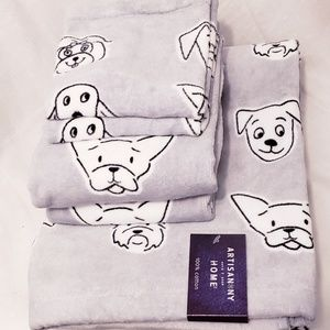 New Artisan NY Home Doggie Towel Set of 6